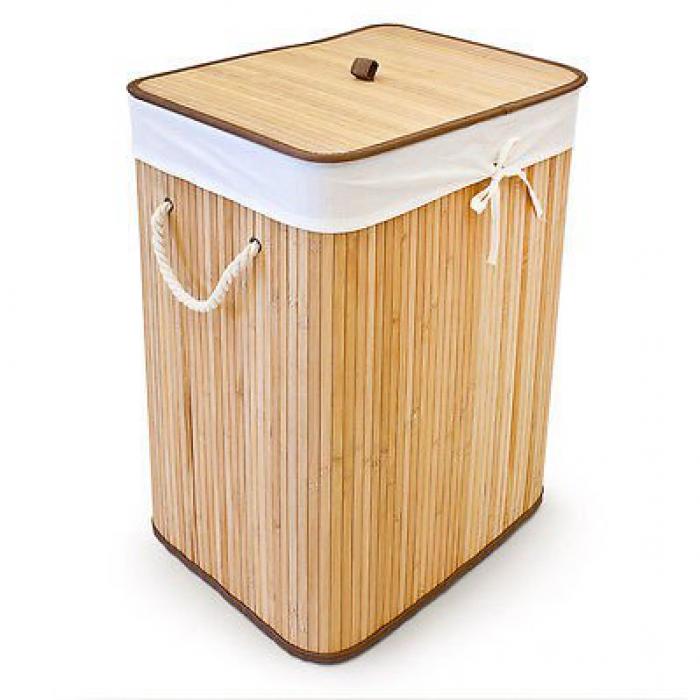 Cesto de ropa sucia bamboo - Cestos para la colada ...