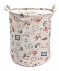 cesto de ropa sucia vintage