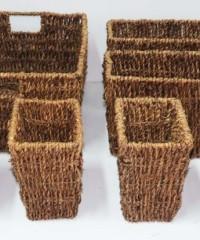 Canastas de seagrass