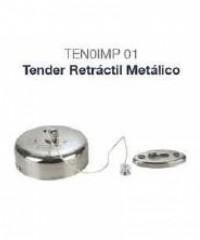 Tender con tensor extensible cromado