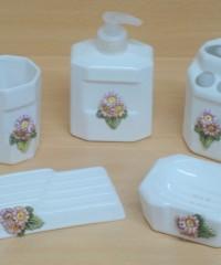 Set de accesorio de ceramica