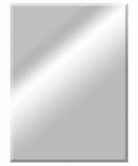 Espejo biselado rectangular