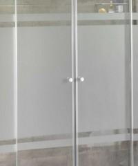 Mampara de cristal templado