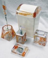 Set de accesorios acrílico